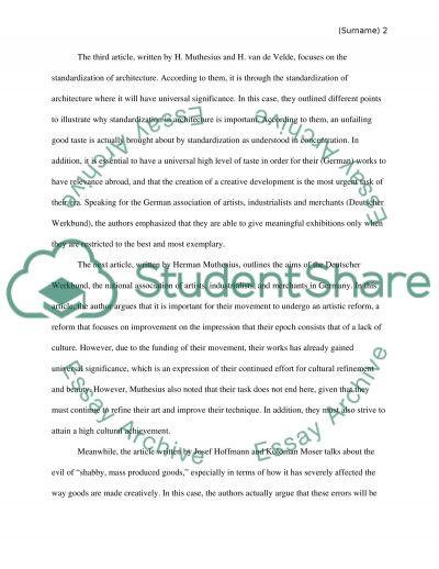 Summerize articles essay example
