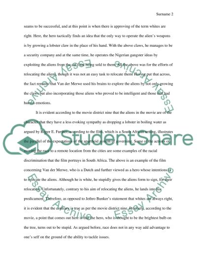 Racial Constructs Essay example
