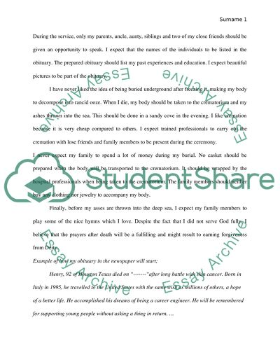 Personal Activity paper