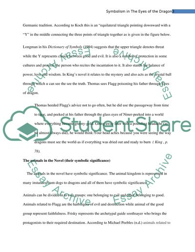 Outline Of Argumentative Essay Symbolism In The Eyes Of The Dragon By Stephen King Sports Psychology Essay also Essay On Non Verbal Communication Symbolism In The Eyes Of The Dragon By Stephen King Essay Essay Examples