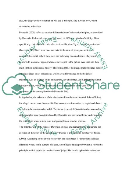 Philosophy Of Law Essay Example  Topics And Well Written Essays  Philosophy Of Law Essay