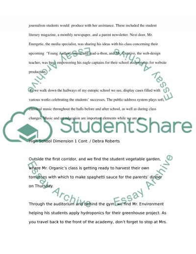 School Presentation essay example