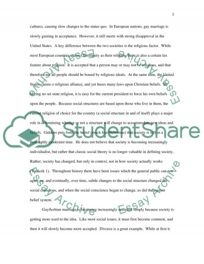 Gay and Lesbian Marriage essay example