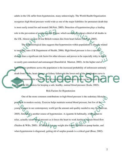 Health promotion College Essay