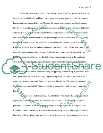 Ib Writing Service Short Story Analysis Essay Writing Essay Papers also Essays On Science Fiction Short Story Analysis Essay Example  Topics And Well Written Essays  Buy An Essay Paper