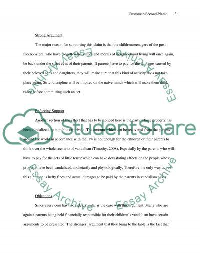 vandalism within educational facilities essays