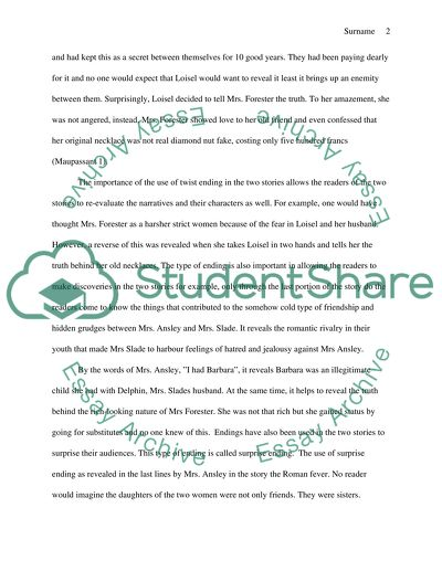 Persuasive Essay Topics For High School The Necklace By Guy De Maupassant And Roman Fever By Edith Wharton Essay About Science And Technology also The Yellow Wallpaper Essays The Necklace By Guy De Maupassant And Roman Fever By Edith Wharton Essay Term Paper Essay