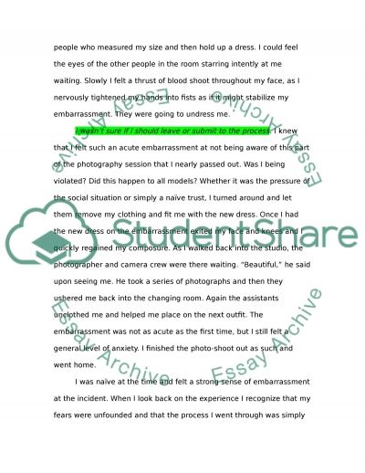 embarrassing experience essay topics The most embarrassing moment in my life essay essays on a song of ice and fire picture of dorian gray aestheticism essay research papers managing diversity in the.