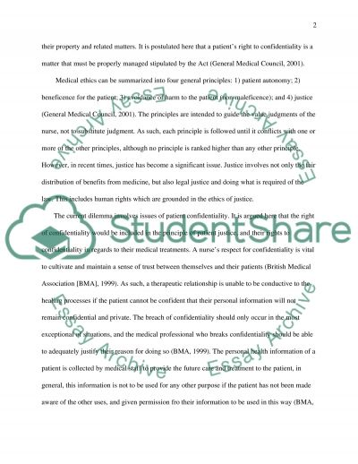 professional standards in mental health care Essay example