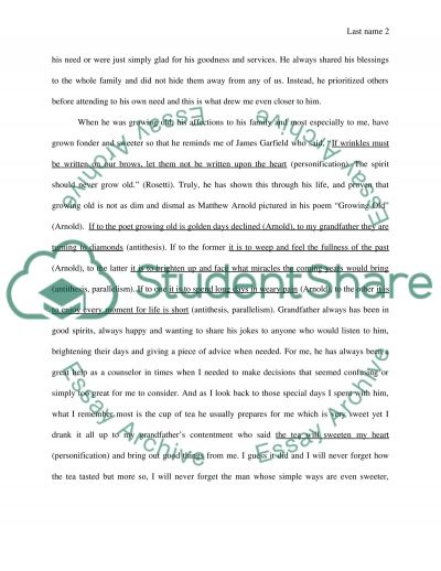 eulogy for my grandfather speech or presentation eulogy for my grandfather essay example