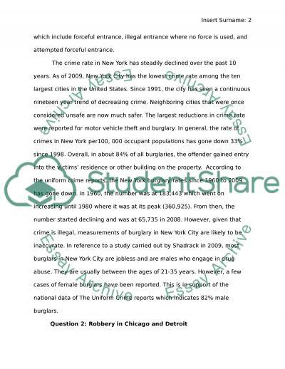 Law report essay example
