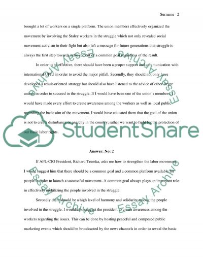 Short answer 3 essay example
