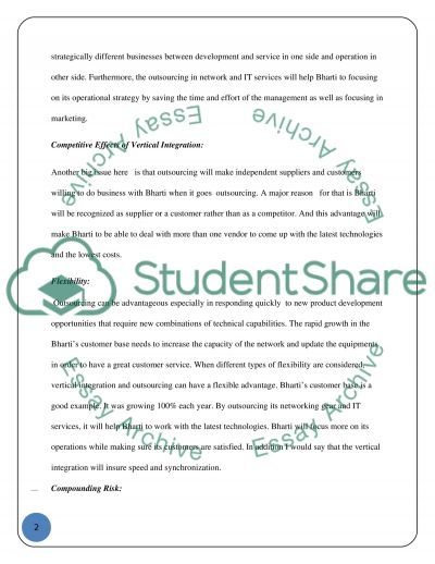 Organization Policy and Stategy essay example