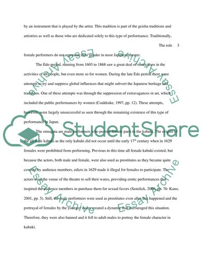 How To Write Biography Essay  How To Write A Thesis For A Narrative Essay also Essay Vs Paper The Role Of Women In Japanese Theatre And The Portrayal Of  Essay Proposal Examples