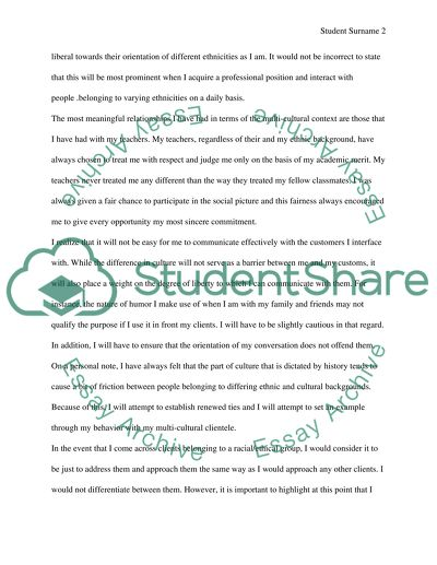 Self assessment Essay Example | Topics and Well Written Essays