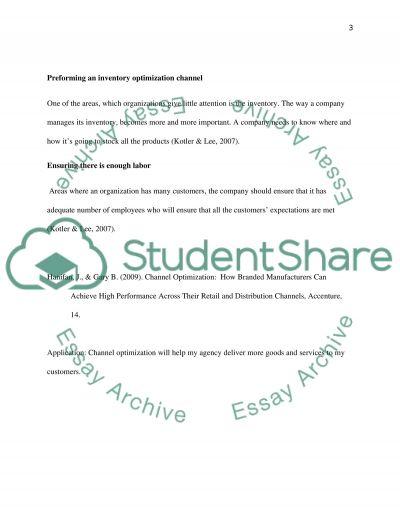 Reading Summary 5 essay example