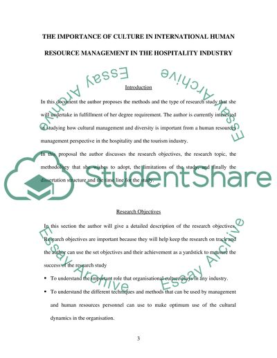 International Human Resource Management - cultural management and diversity