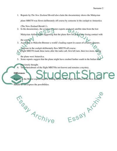 International studies Article presentation