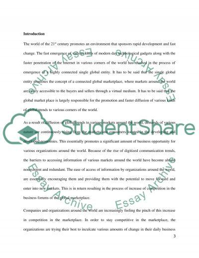 UK marketing analysis essay example