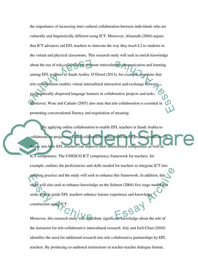 Document for Proposal review