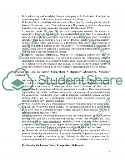 Paper Assignment essay example
