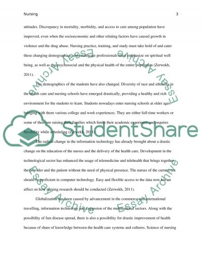 Trends Affecting the Nurse as Educator essay example
