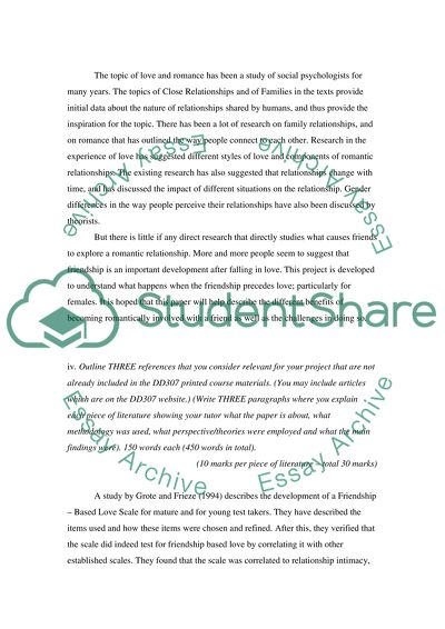 project proposal essay sample