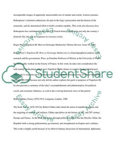 French revolution essay topics