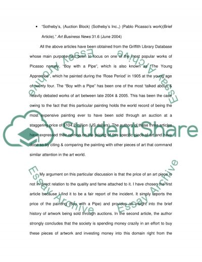 Comparing & Contrasting Authorities essay example