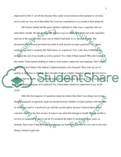 a written essay on how to stop smoking If you want to get a custom written an argumentative essay on smoking,  the main reasons those authorities do not try to stop people from smoking is money.