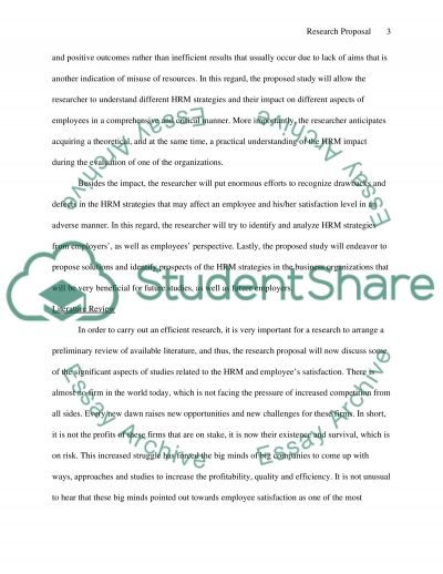 Management Research essay example