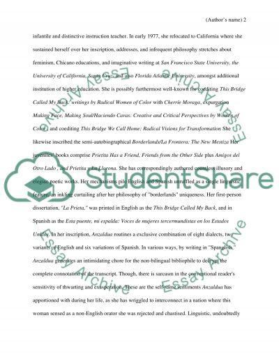 Language, identity and race essay example