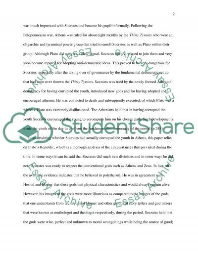 platos republic essay example topics and well written essays  platos republic essay example