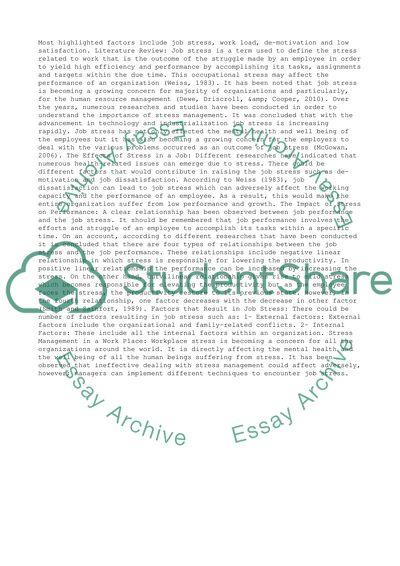 Management Essay - Eco