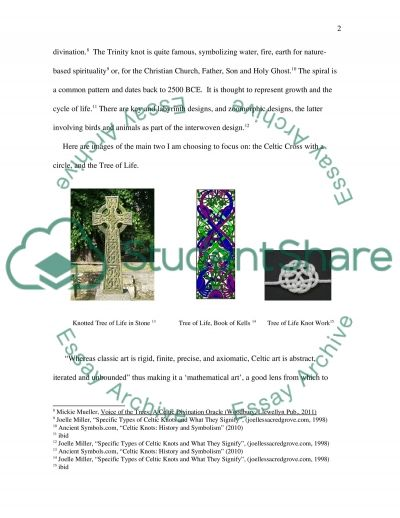Origin and History of Celtic Knots