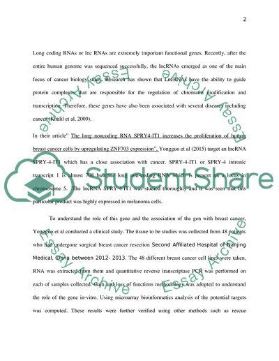BIO 345 - Topic Paper