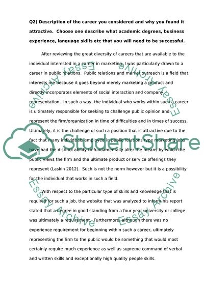 Case study analysis paper the mission statement