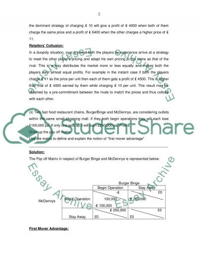 Business Environment and Economics essay example