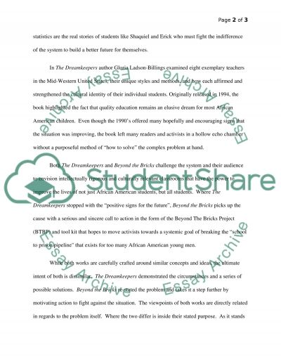 Culturally relevant teaching in the American educational system essay example