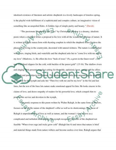 Companion Poems essay example