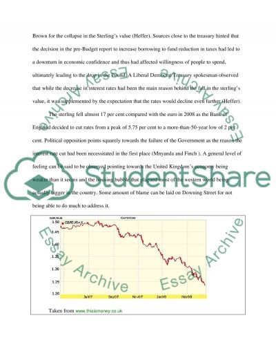Currency Devaluation in the United Kingdom Essay example