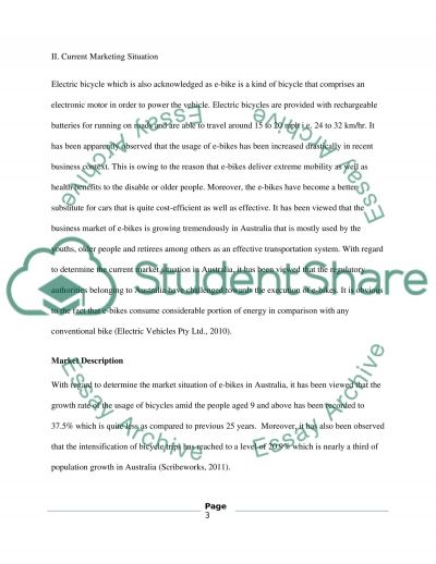 MARKETING essay example
