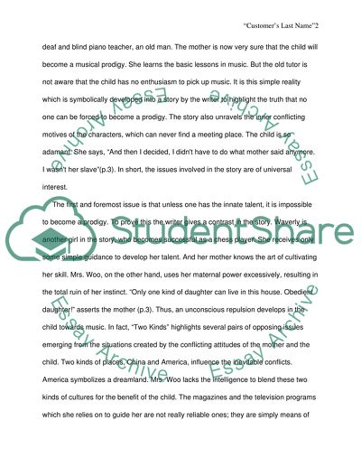 My Country Sri Lanka Essay English Analysis Of Two Kinds Written By Amy Tan English Extended Essay Topics also English Extended Essay Topics Analysis Of Two Kinds Written By Amy Tan Essay Example  Topics And  How To Start A Synthesis Essay