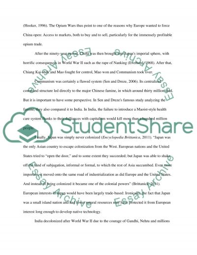 compare and contrast the responses of and to essay  text preview