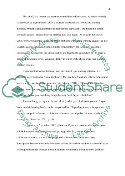 Effective Learning Essay example