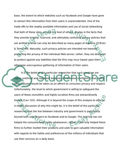 Essay Grader Online The Shallows Agreement And Partial Disagreement With Nicholas Carrs  Approach To Internet Privacy Eradication Of Child Labour Essay also Essay Term The Shallows Agreement And Partial Disagreement With Nicholas Carrs  Moby Dick Essay Topics