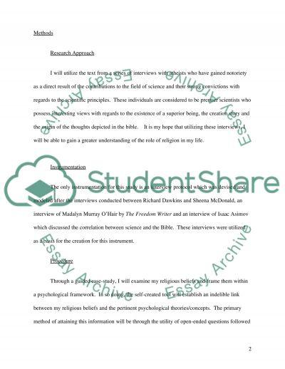 Religion and Society essay example