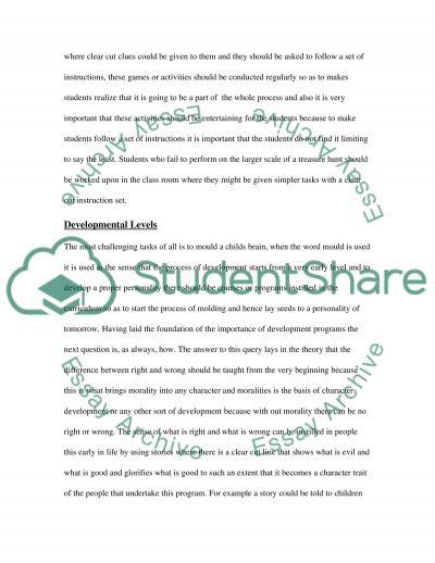 Curriculum Alignment essay example