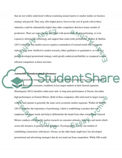 Strategy and Marketing Essay Essay example