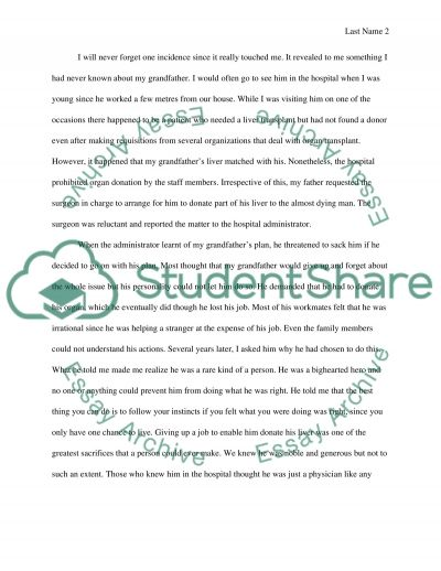 he is my hero essay about my grandfather example topics and he is my hero essay about my grandfather essay example